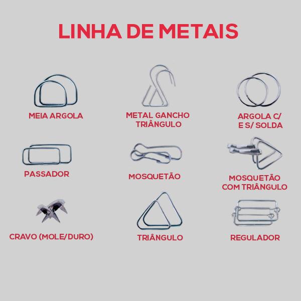 Acessórios de metal